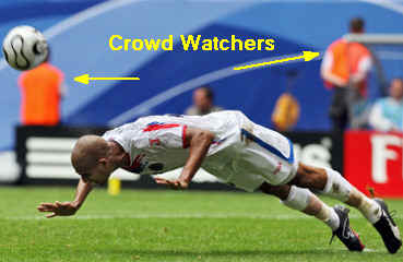 Watch the World Cup crowd