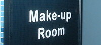 make-up room