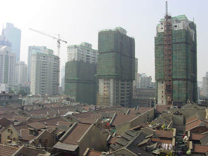 Shanghai Construction Site