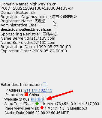 Shanghai Domain