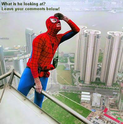 spiderman in china
